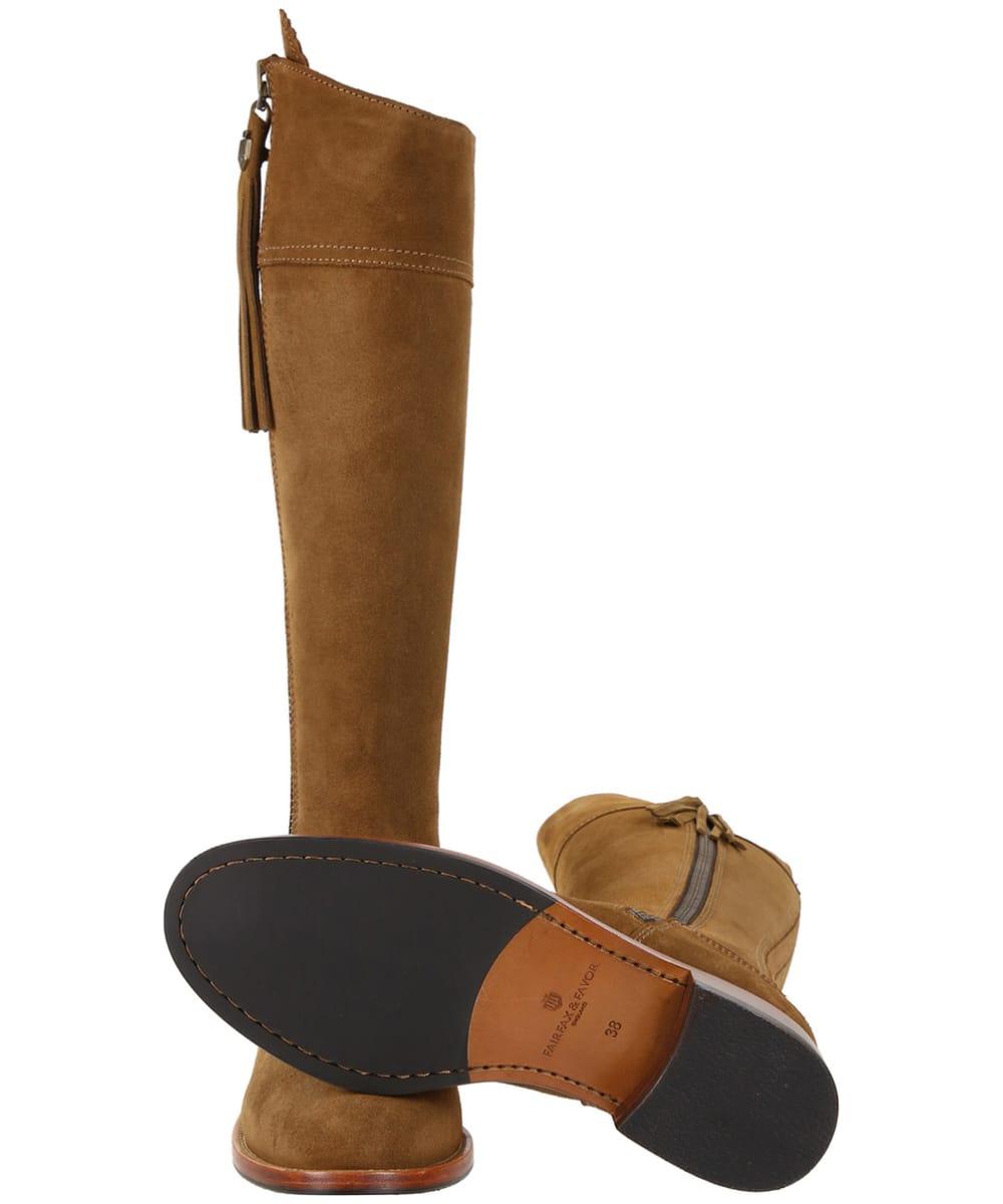6fb318ba4b8 ... Women's Fairfax & Favor Flat Regina Boots - Tan Suede ...