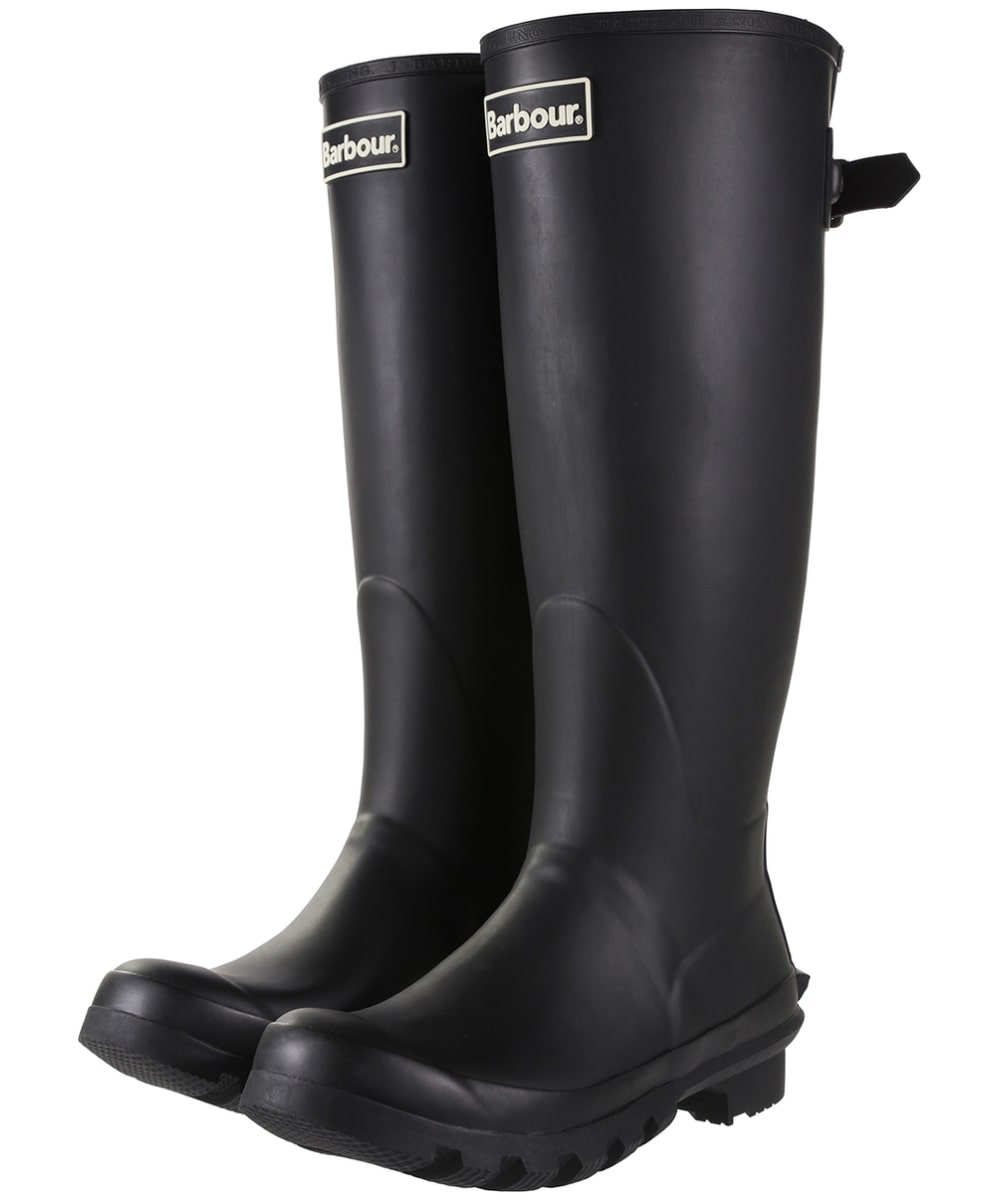c51106893 Women's Barbour Jarrow Back Adjustable Wellingtons - Black