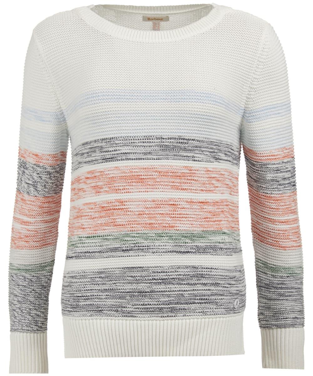 1e0efc9d94106c Women's Barbour Littlehampton Knitted Sweater - Off White