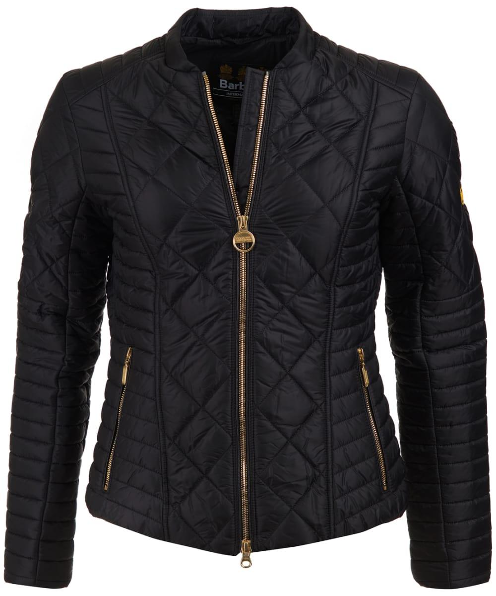 7e8dc27ac9c8 Women s Barbour International Sprinter Quilted Jacket - Black