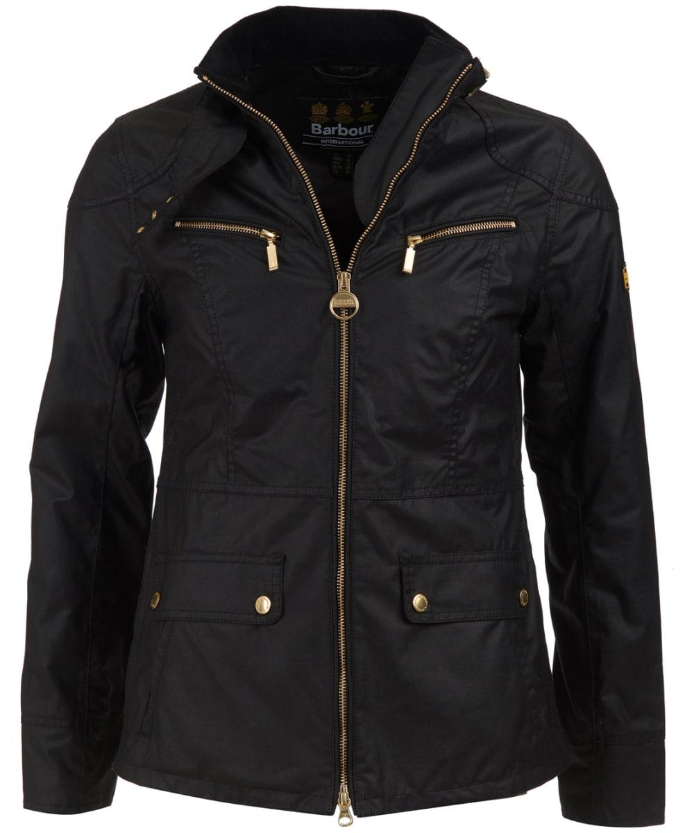 09732d32b6f Women's Barbour International Ivy Waxed Jacket - Black