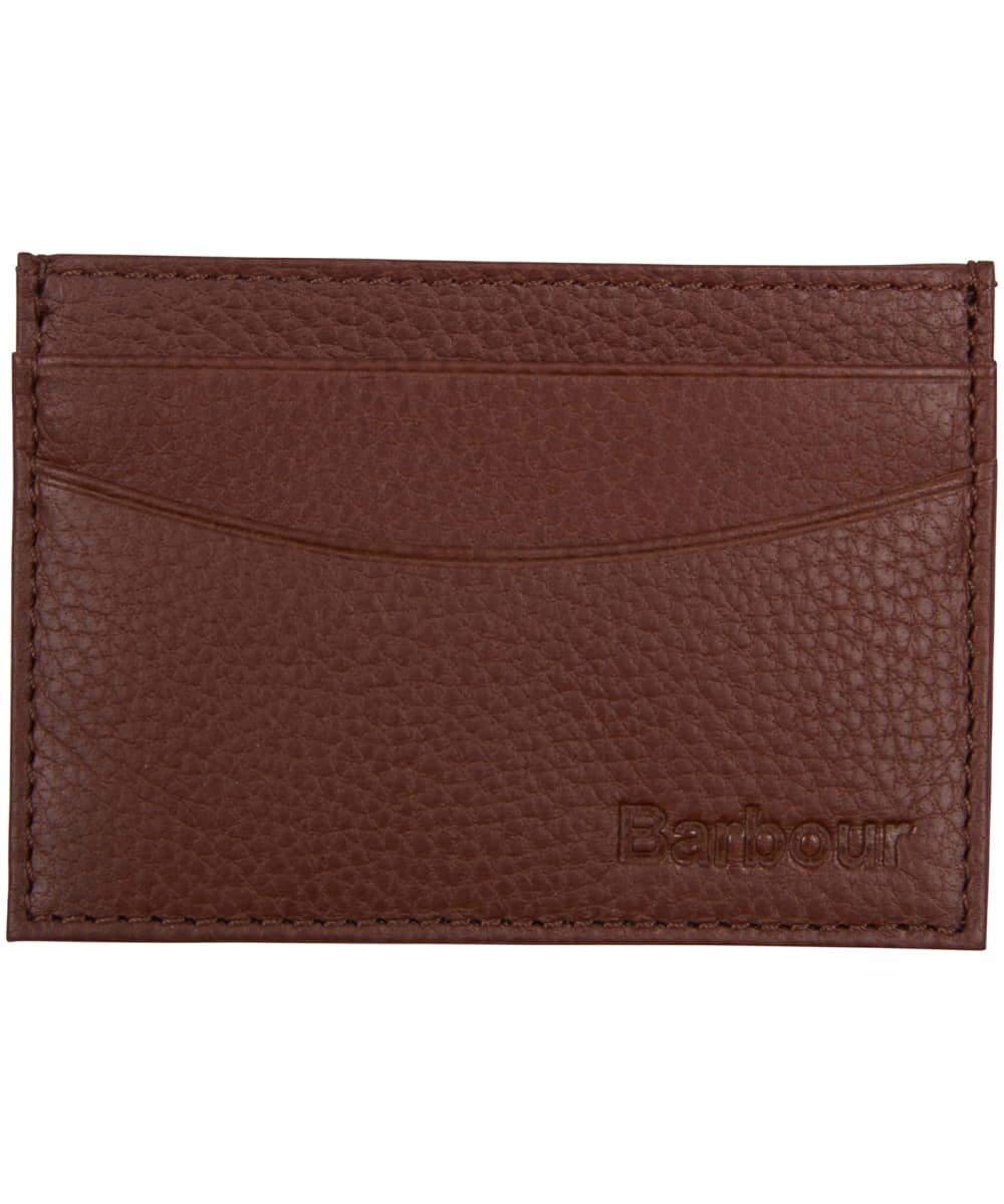 new york 838df 0a272 Men's Barbour Two Tone Leather Card Holder