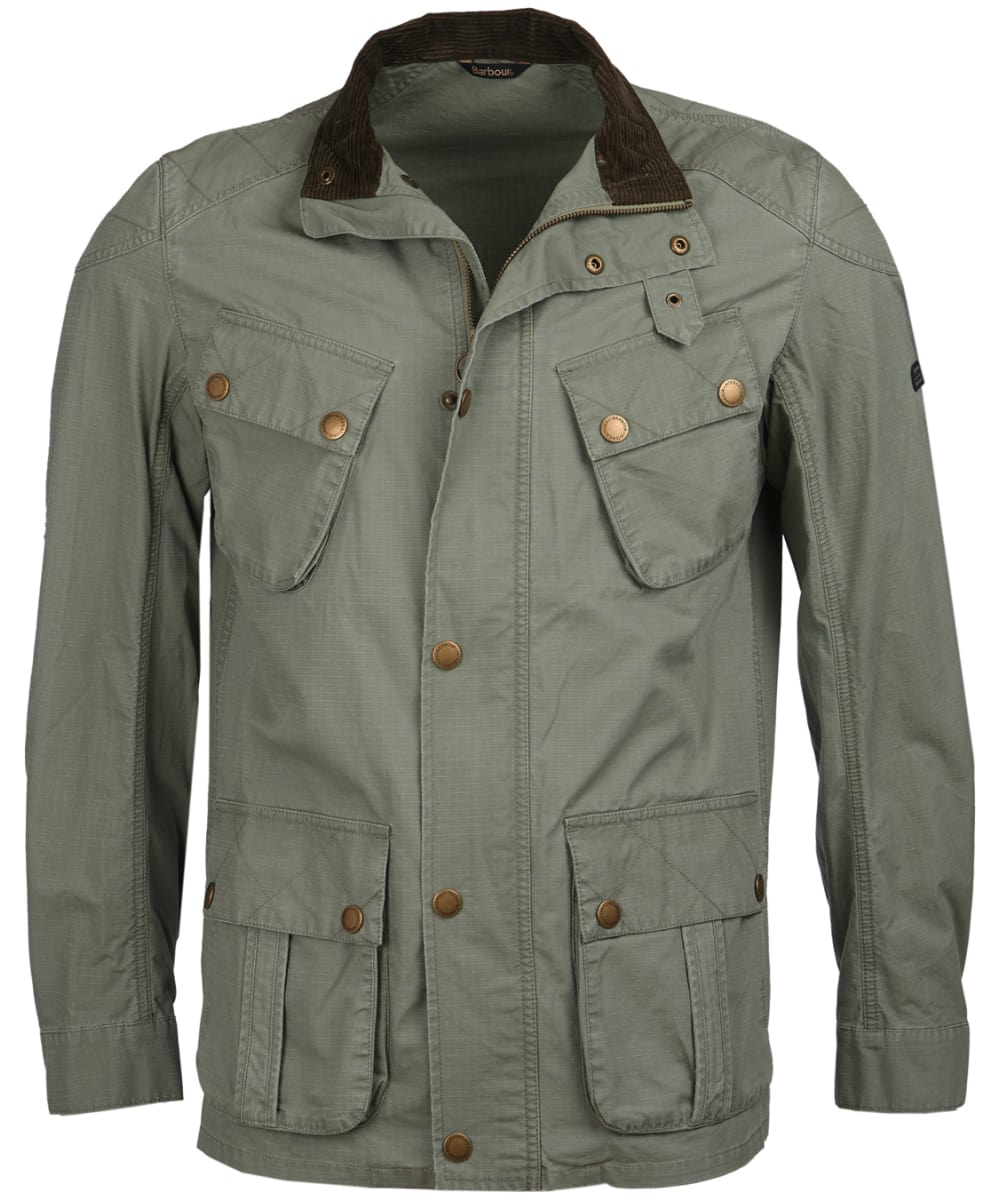 3bb72c0e708 Men's Barbour International Tees Ripstop Casual Jacket - Military Green