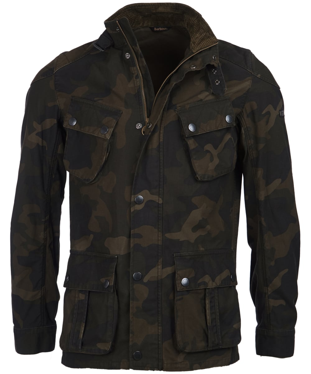 87606595c4b46 Men's Barbour International Washed Camo Jacket - Camo