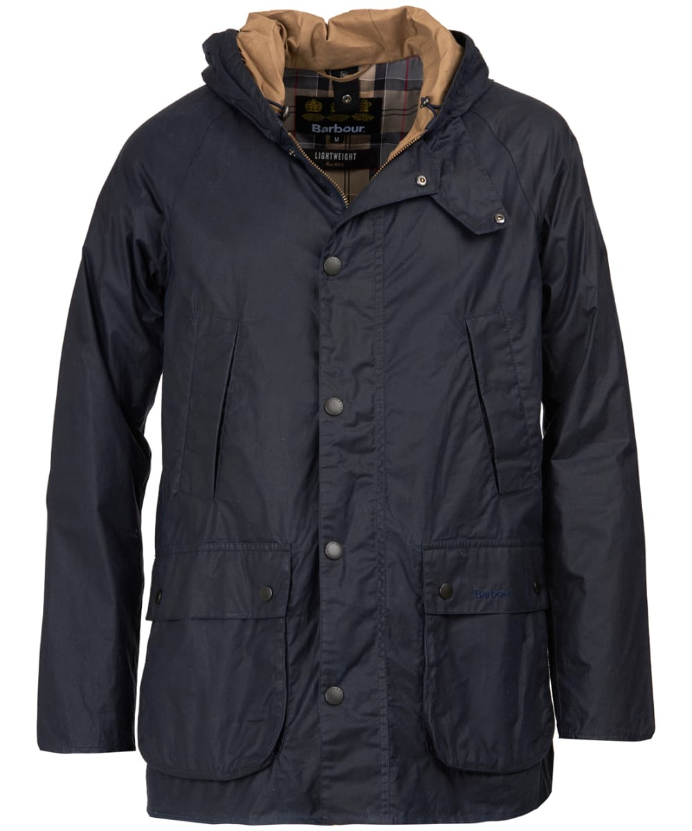 Men S Barbour Lightweight Hooded Bedale Waxed Jacket