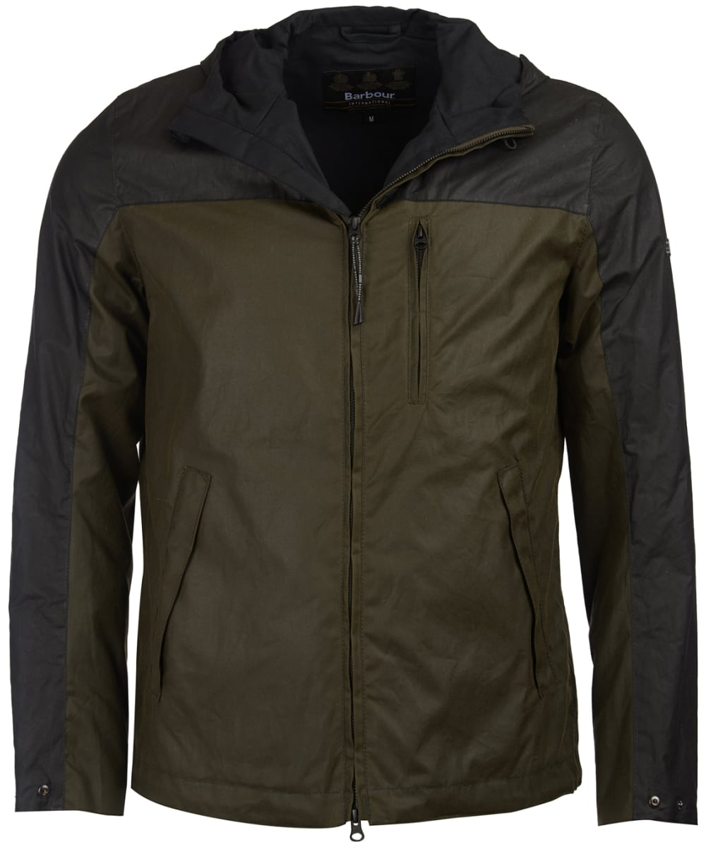 1f4cbbae8b3 Men s Barbour International Lanark Waxed Jacket - Archive Olive