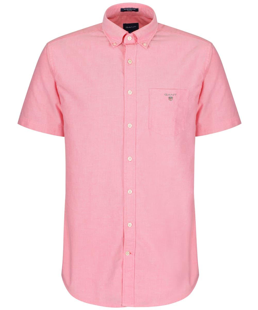 6a143fc80 Men's GANT Short Sleeved Oxford Shirt