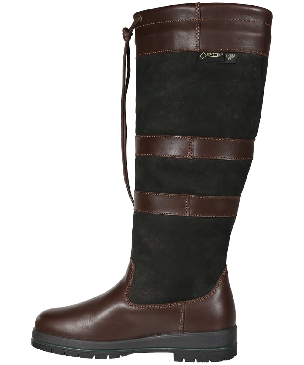 ecfbac652e9 ... Dubarry Galway ExtraFit™ Country Boots - Black   Brown ...