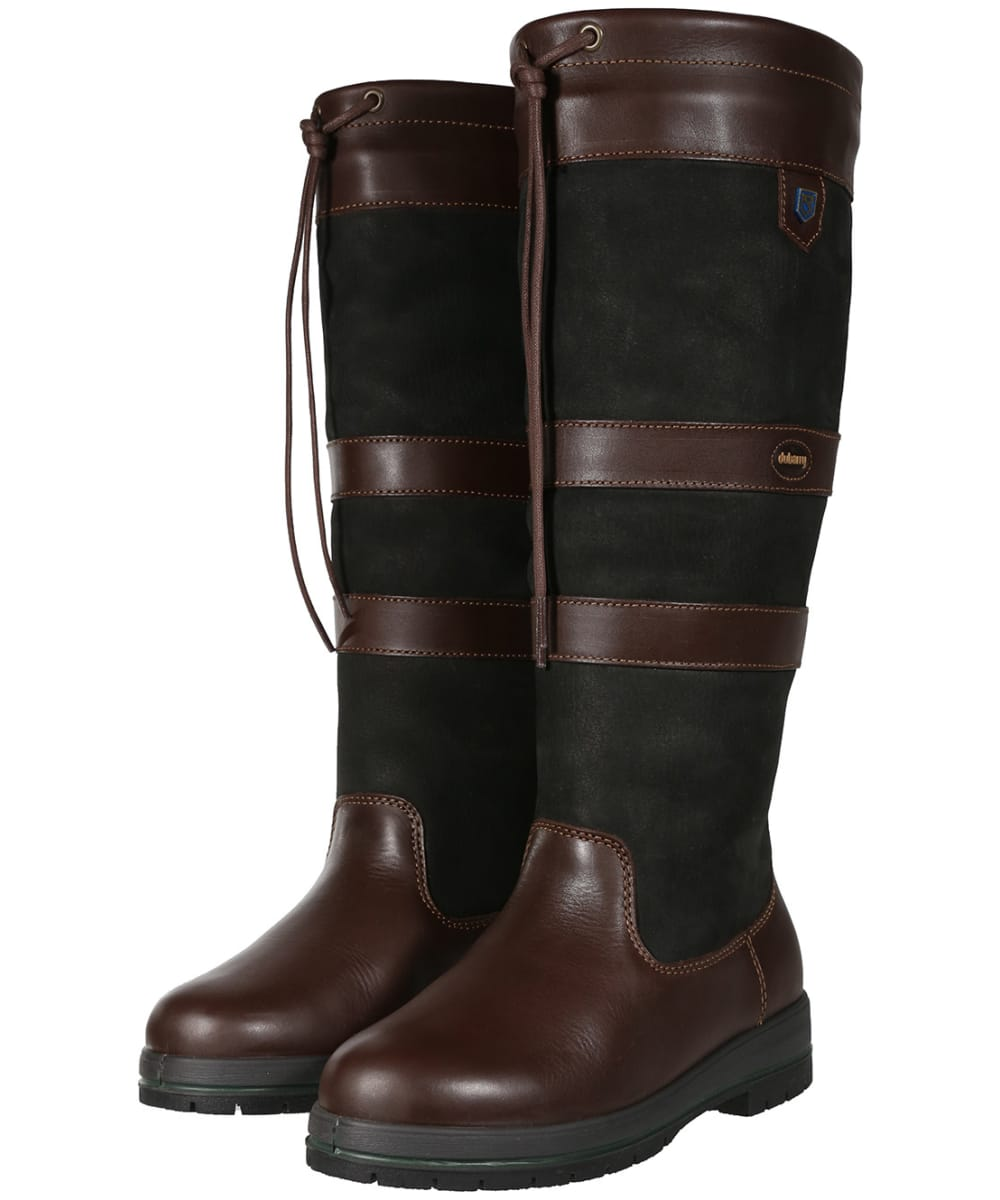 a4138f43df7 Dubarry Galway ExtraFit™ Country Boots - Black   Brown