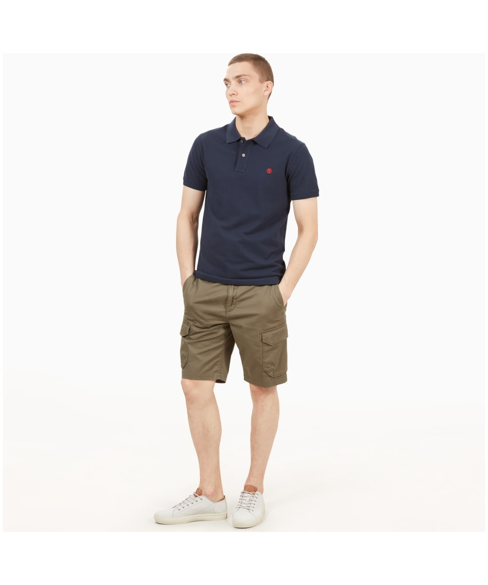 Men's Timberland Webster Lake Stretch Twill Classic Cargo Shorts