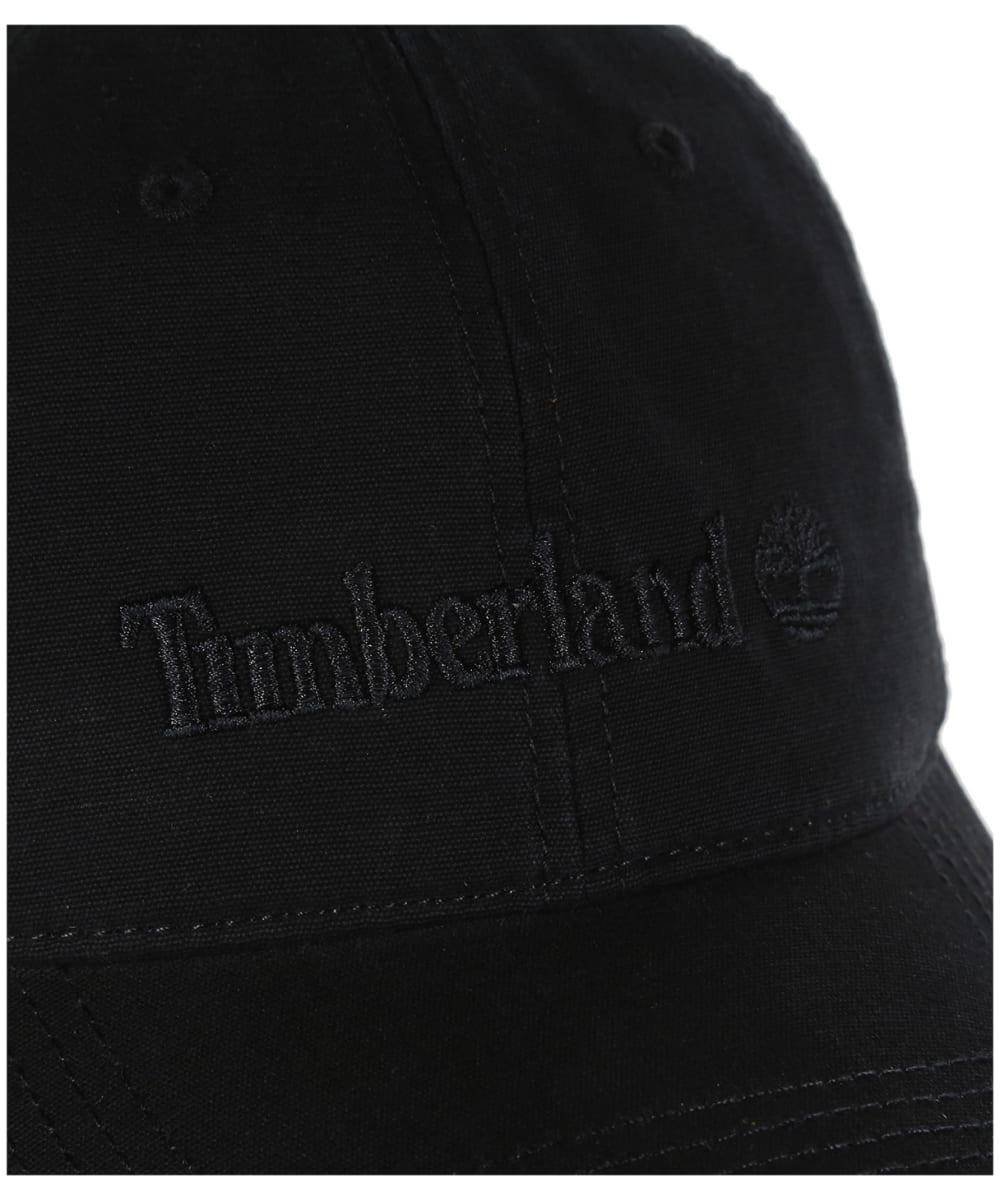 4e0cea058b4 ... Men s Timberland Cotton Canvas Baseball Cap - Black