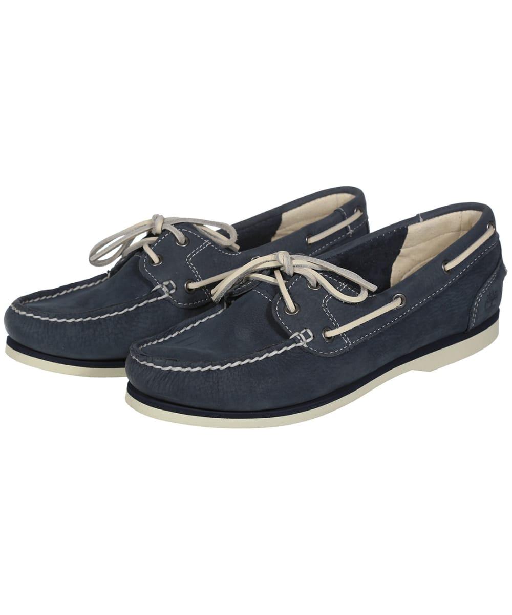 c46e6f7fd73c05 Women's Timberland Classic Boat Shoes - Blue