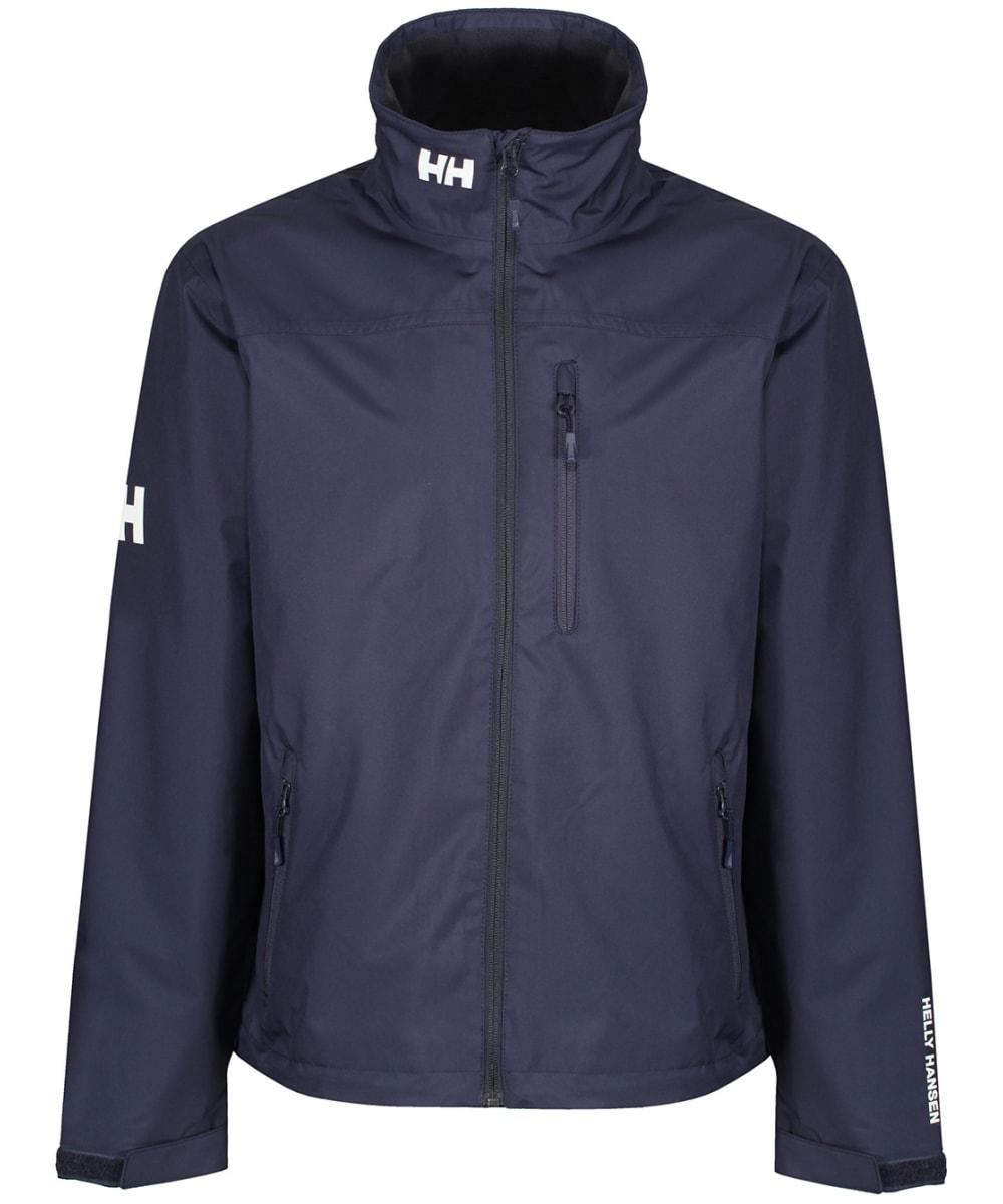 eee15abf18 Men's Helly Hansen Crew Midlayer Jacket - Graphite Blue