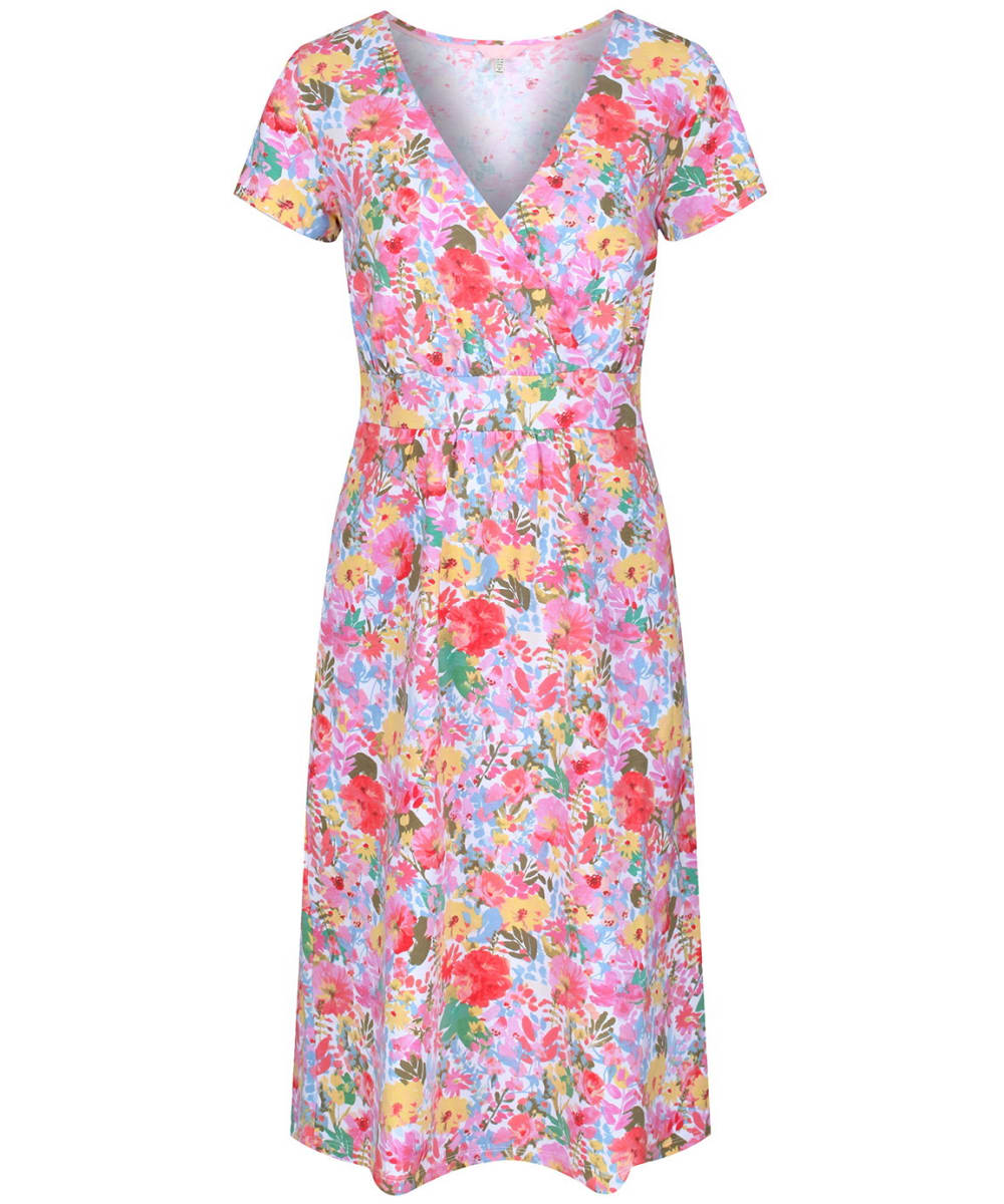 5f7ffa49ac Women s Joules Jude Wrap Dress - White Floral Meadow