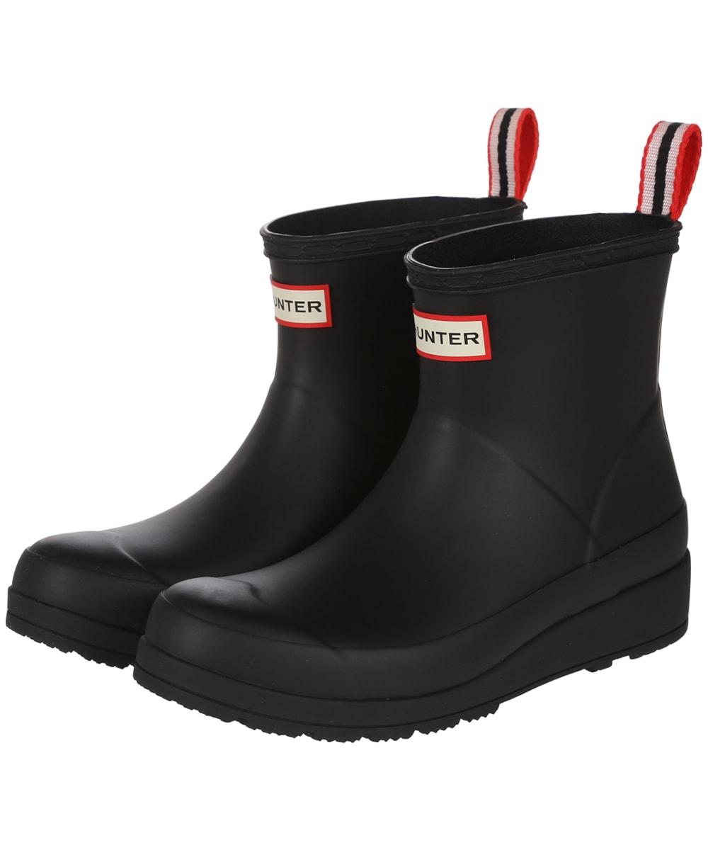 e9285c99ea96 Women s Hunter Original Play Short Wellington Boots - Black