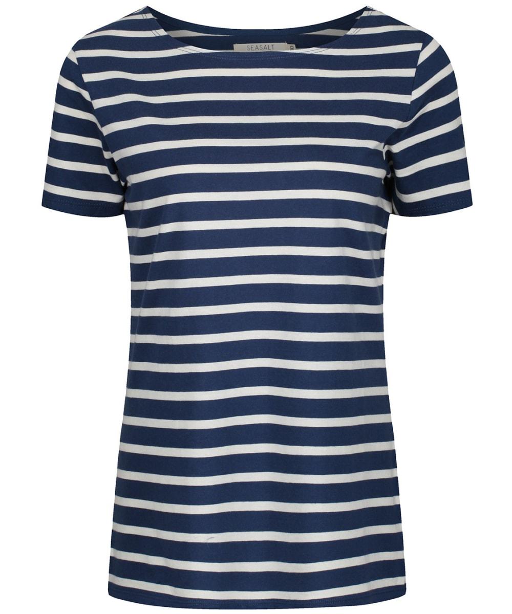 3218fd4f Women's Seasalt Sailor T-Shirt - Breton Night Ecru