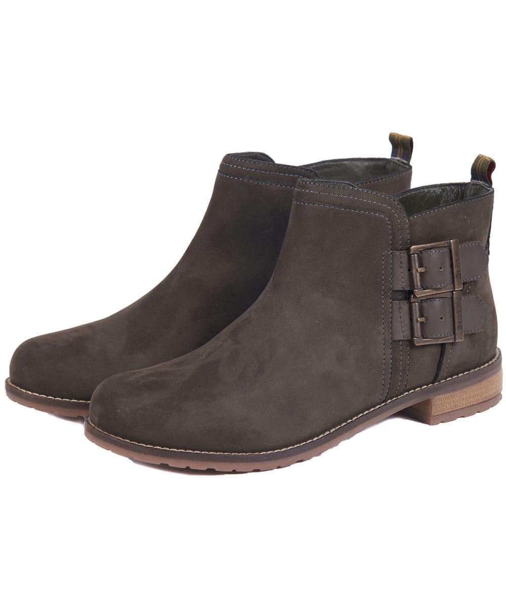 barbour sarah low buckle boot