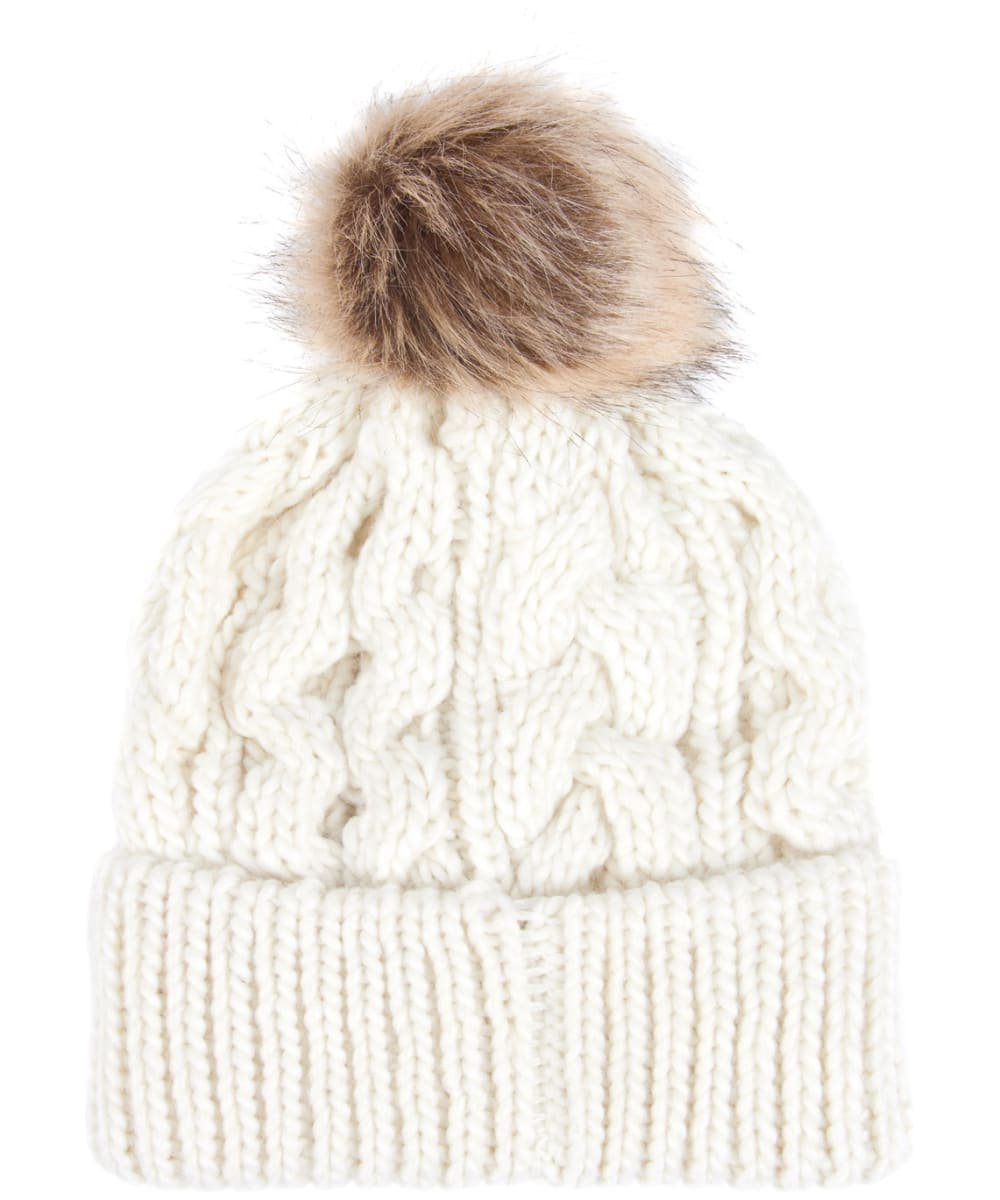 38312164f Women's Barbour Penshaw Cable Beanie