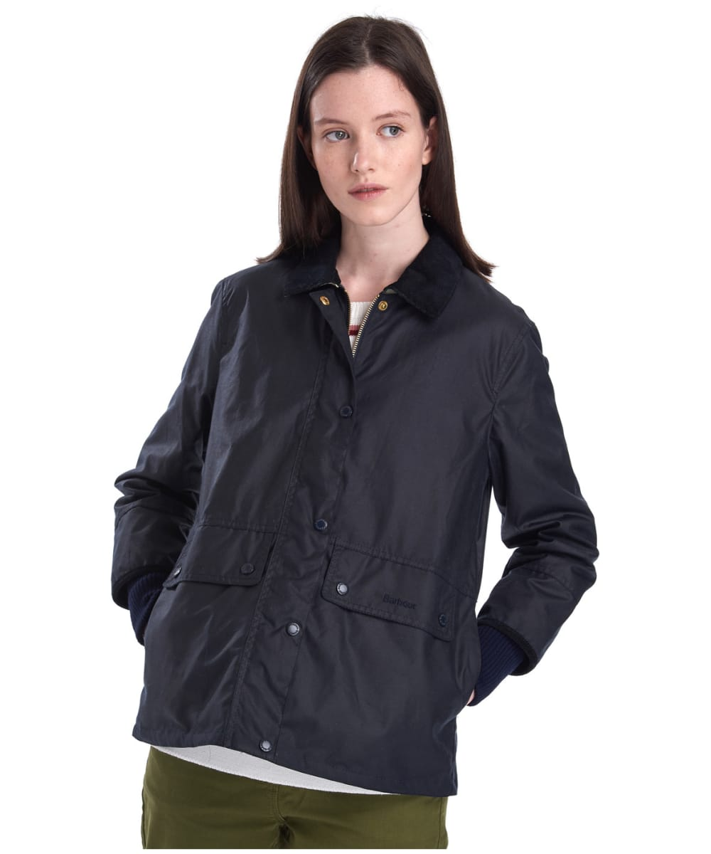 Women S Barbour Tawny Waxed Jacket
