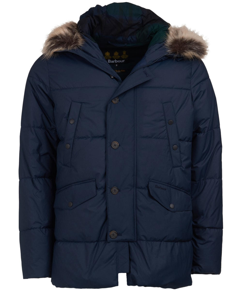barbour hooded jacket