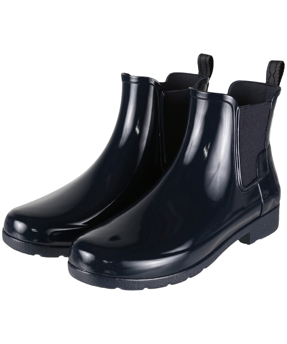 to buy new cheap low cost Women's Hunter Original Refined Chelsea Gloss Boots