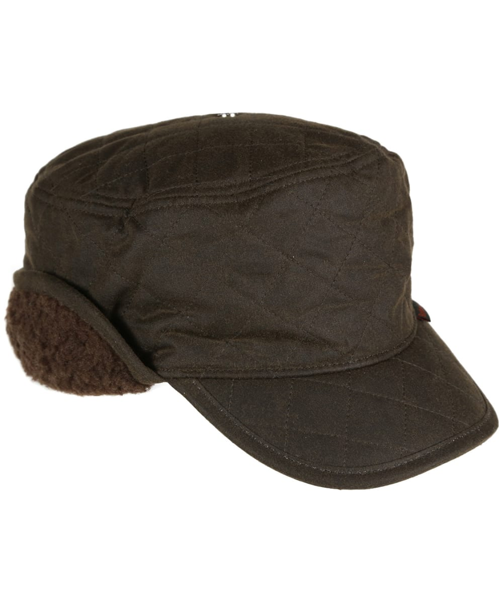 SMALL-55cm Quality Olive Wax Cotton Fully Lined Traditional Gent/'s Men Flat Cap