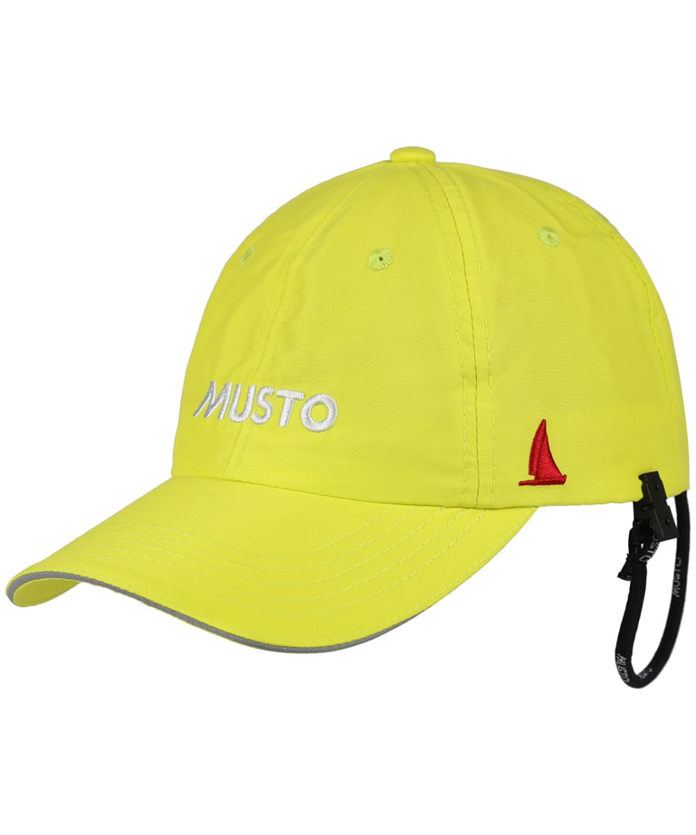 Musto Mens Quick Dry Lightweight Polyamide Crew Cap With Securing Clip