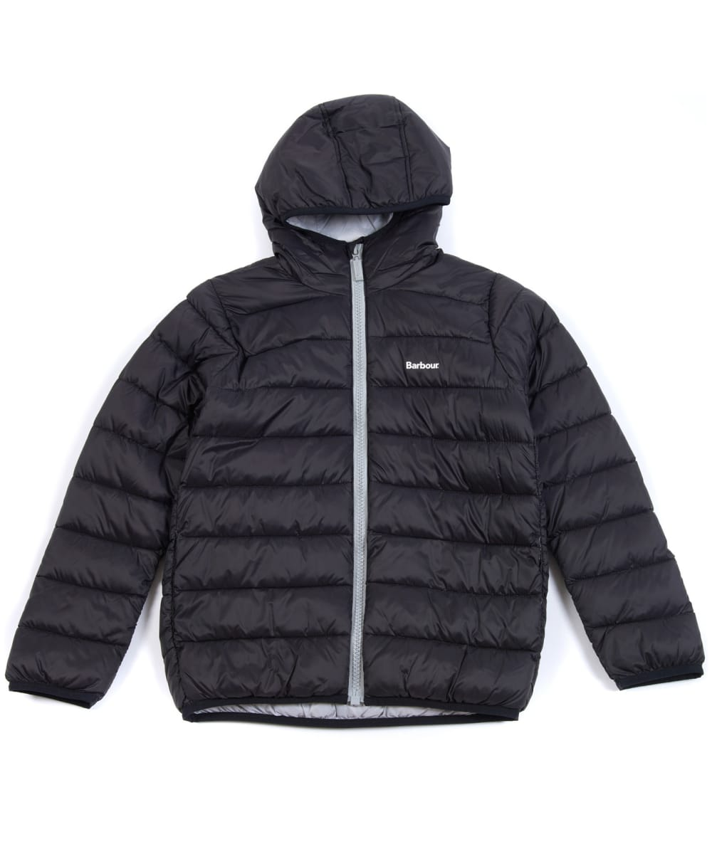 barbour trawl quilted jacket