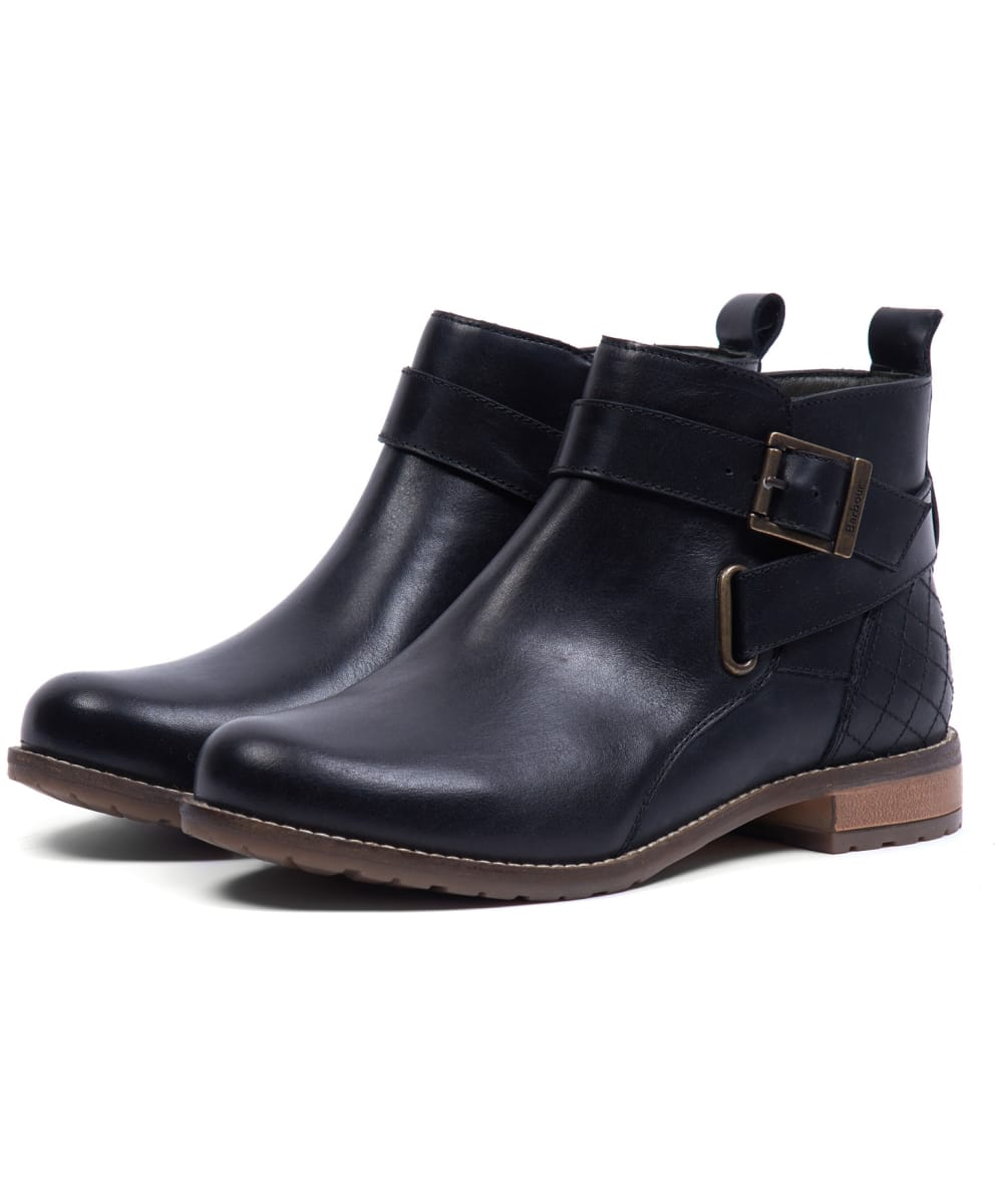 Women's Barbour Jane Leather Ankle Boots