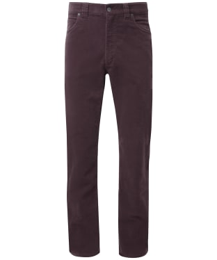 Men's Schöffel Canterbury Cord Trousers - Mulberry