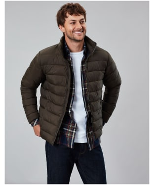 Men's Joules Go To Lightweight Padded Jacket - Green