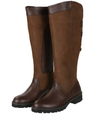 Women's Dubarry Clare Country Leather Boots - Walnut