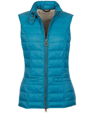 Women's Barbour Holsteiner Quilted Gilet - Storm Blue