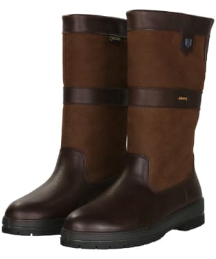 Dubarry Kildare Leather Boots - Walnut