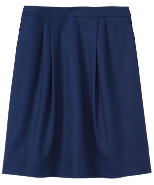 Women's Crew Clothing Pleated A-Line Skirt - Navy
