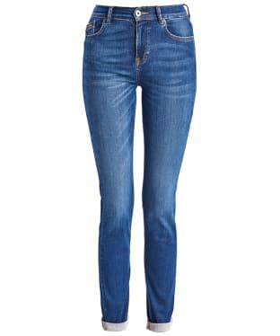 Women's Barbour International Broton Slim Jeans - Triworn Blue