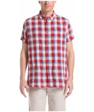 Men's Aigle Precy Check Shirt - Cherry Check