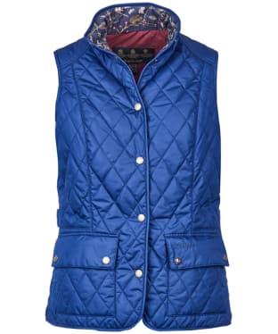 Women's Barbour Saddleworth Gilet - Bright Blue