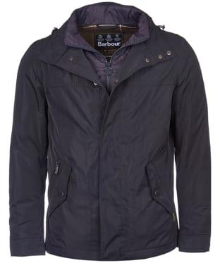 Men's Barbour Tulloch Waterproof Jacket - Navy