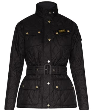 Women's Barbour Lightweight International Quilted Jacket - Black