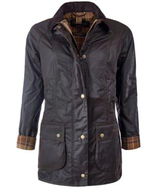Women's Barbour Beadnell Wax Jacket - Rustic