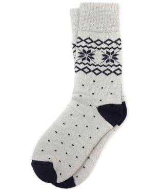 Women's Barbour Glacier Socks - Grey