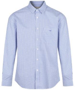 Men's R.M. Williams Collins Shirt - White / Blue