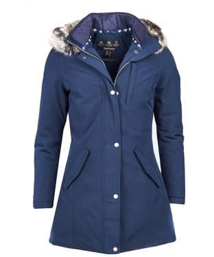 Women's Barbour Epler Waterproof Jacket - Navy