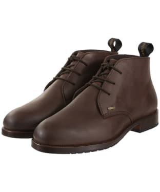 Men's Dubarry Waterville Leather Boots - Old Rum