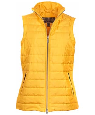 Women's Barbour Current Quilted Gilet - Yellow