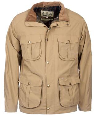 Men's Barbour Petrel Waterproof Jacket - Light Sand