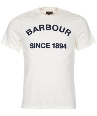 Men's Barbour Tiverton Tee - Neutral