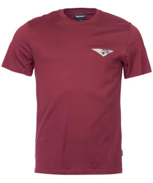 Men's Barbour Walshaw T-Shirt - Ruby