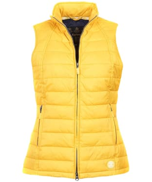 Women's Barbour Iris Quilted Gilet - Canary Yellow